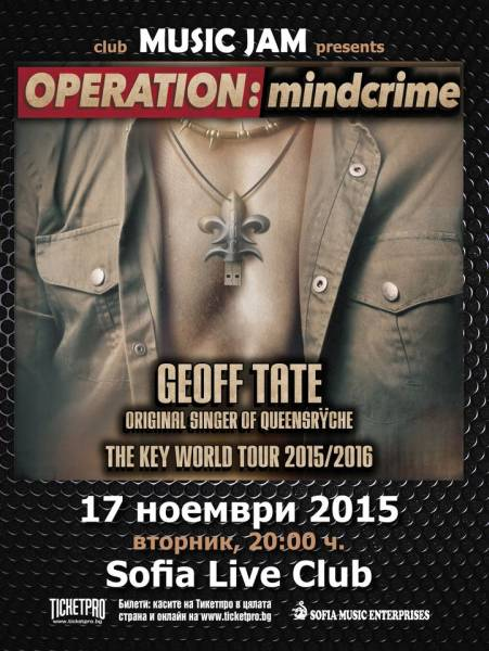 GEOFF TATE - OPERATION MINDCRIME