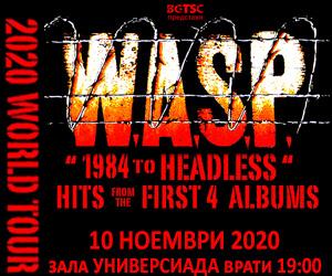 W.A.S.P. Live In Sofia