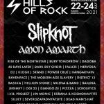 SLIPKNOT и AMON AMARTH ще са хедлайнери на HILLS OF ROCK 2021