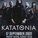 KATATONIA ще свирят в Пловдив на 17 септември, LAIBACH се отлага за септември 2022