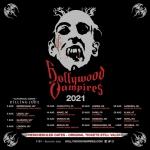 Новата дата за концерта на The Hollywood Vampires e 1 септември 2021.