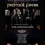 PRIMAL FEAR отлагат турнето си! 22-ри Септември е новата дата за София.
