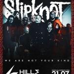 SLIPKNOT свирят на 21 юли в първия фестивален ден на Hills of Rock 2022