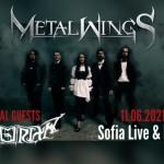 Концерт на Metalwings в клуб LIVE & LOUD на 11.06.2021