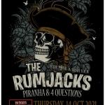 Концертите на The Rumjacks в България ще се състоят!