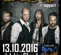 The Austrian symphonic/prog/power metal band SERENITY will play in Sofia