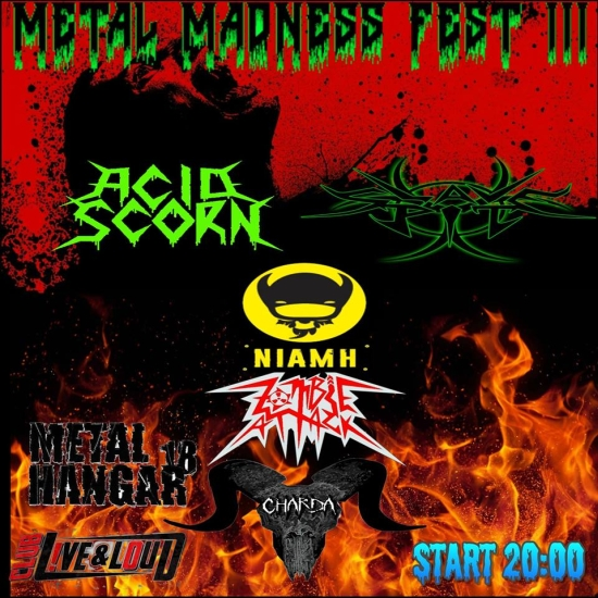 Metal Madness Fest 3 - ACID SCORN, ZOMBIE ATTACK