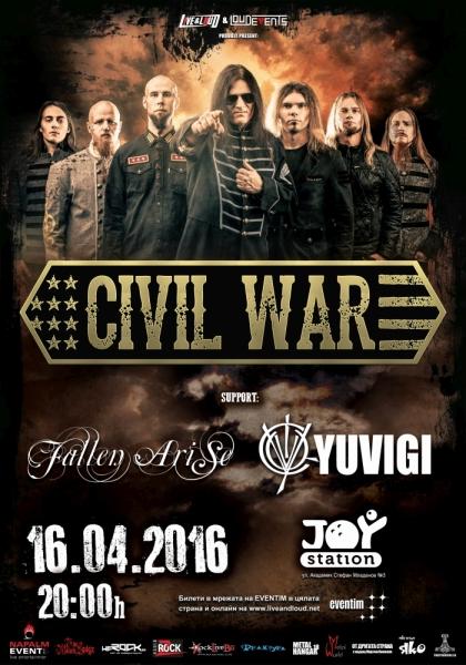 CIVIL WAR, FALLEN ARISE