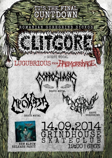 CLITGORE with guest vocal LUGUBRIOUS