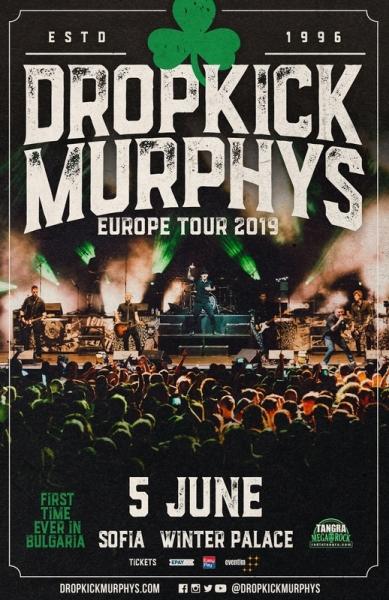 DROPKICK MURPHYS, FRANK TURNER