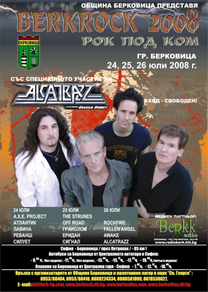 Berkrock - GRAHAM BONNET feat ALCATRAZZ