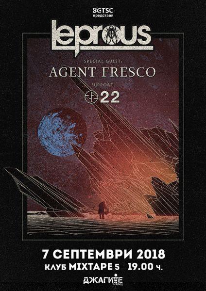 LEPROUS, AGENT FRESCO, 22