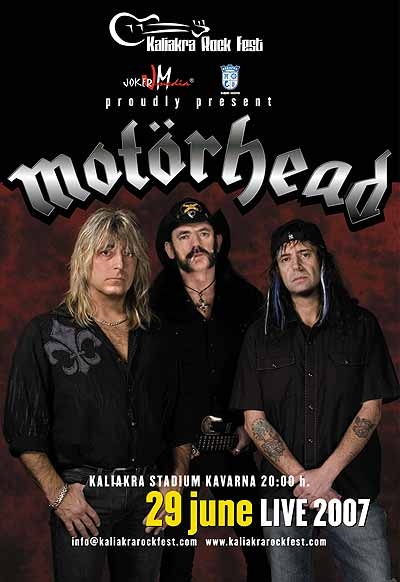 Kaliakra Rock Fest - MOTORHEAD