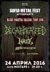 DECAPITATED, HATE, THY DISEASE, KRYSTHLA, AKTAION