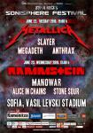 Sonisphere Festival (day 1) - METALLICA, SLAYER, MEGADETH, ANTHRAX