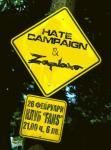 Hate Campaign, Zaplaxa