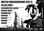 United Underground Fest - SACRAMENTAL BLOOD