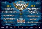 Kavarna Rock Day 2 - WITHIN TEMPTATION, UNISONIC, KAMELOT, DELAIN