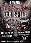 4 years Metal Bar The Black Lodge