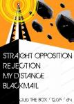 STRAIGHT OPPOSITION, MYDISTANCE