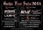 Gothic Fest Sofia - FROZEN AUTUMN, MIZAR