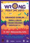 Wrong Fest 2017 - ORANGE GOBLIN, DEVILLE