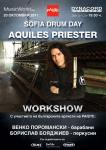 Sofia Drum Day with AQUILES PRIESTER