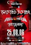 Kaliakra Rock Fest - TWISTED SISTER, HELLOWEEN, TESTAMENT