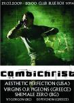 COMBICHRIST, AESTHETIC PERFECTION, VIRGINS O.R. PIGEONS