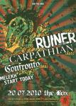 RUINER, CARPATHIAN, CONFRONTO