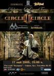 CIRCLE II CIRCLE, MANTICORA, BURNING BLACK