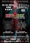 HOTBOX, WOMB OF MAGGOTS, CHAOS UNDIVIDED