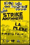 STRIKE ANYWHERE, LA PLEBE