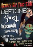 Heavy By The Sea - Deftones, Behemoth, Ghost, Nightstalker