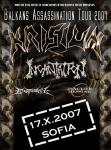 KRISIUN, INCANTATION, INACTIVE MESSIAH
