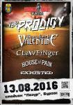 Summer Chaos Festival - THE PRODIGY,  BULLET FOR MY VALENTINE. THE EXPLOITED, CLAWFINGER