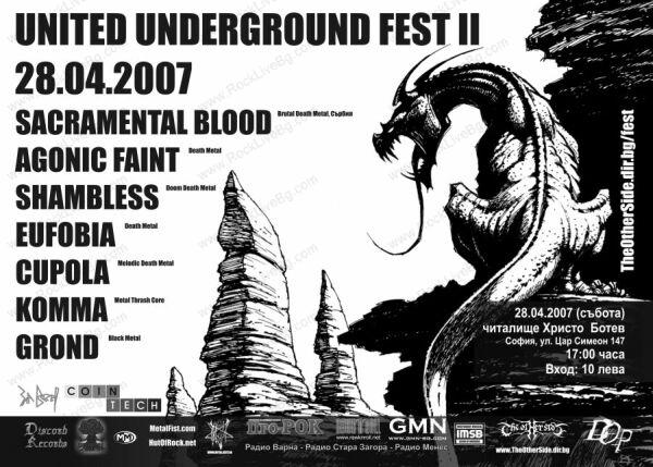 United Underground Fest - SACRAMENTAL BLOOD