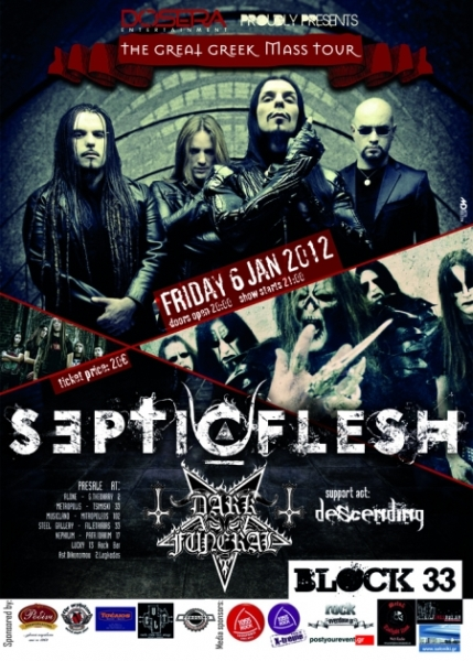 SEPTICFLESH, DARK FUNERAL, DESCENDING