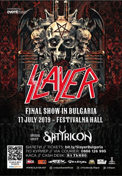 SLAYER, SATYRICON