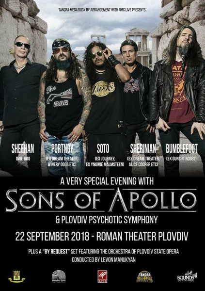 SONS OF APOLLO and Orchestra