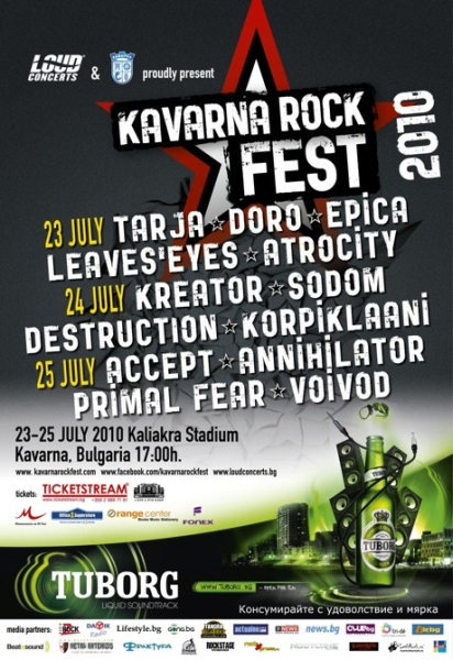 Kavarna Rock Fest (day 3) - VOIVOD, PRIMAL FEAR, ANNIHILATOR, ACCEPT