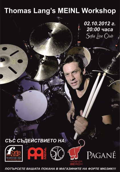 THOMAS LANG`S Meinl Workshop