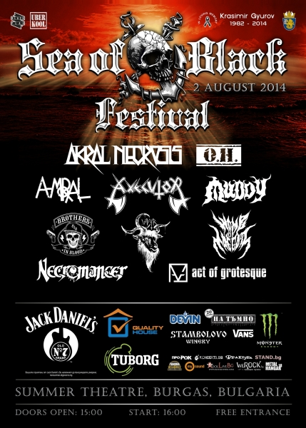 Sea Of Black Festival - WOMB OF MAGGOTS, AKRAL NECROSIS