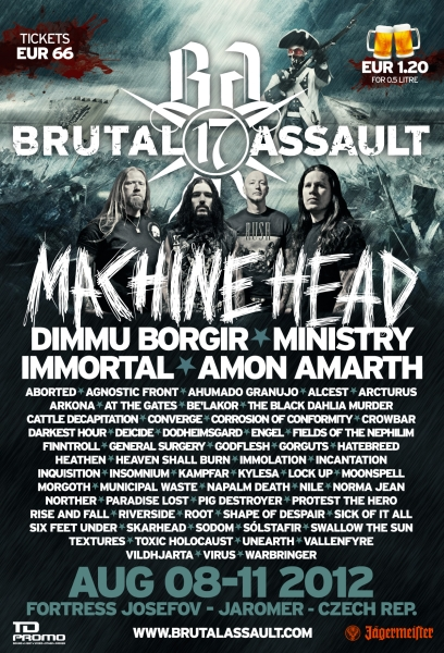 Brutal Assault 2012 poster en big