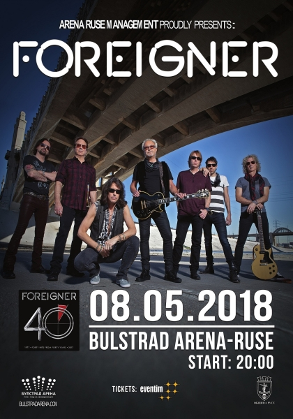 FOREIGNER poster ruse