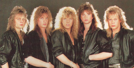 europe the band 19861
