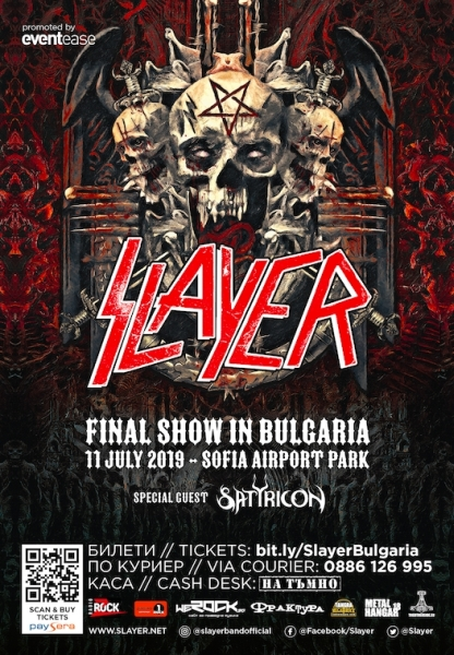 slayer satyricon sofia 2019